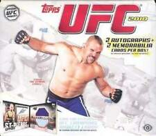 2010 Topps UFC Series 4 Factory Sealed Hobby Box - 4 Hits in EVERY Box.