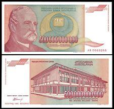 Yugoslavia 500 Billion DINARA 1993 P 137 UNC
