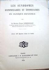 1924 MEDICINA GIGANTISMO NABISMO SINDROME IPOFISARIA DI PIERRE LEREBOULLET