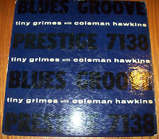 """1958 Tiny Grimes with Coleman Hawkins """"Blues Groove"""" Prestige PRLP-7138 YELLOW"""