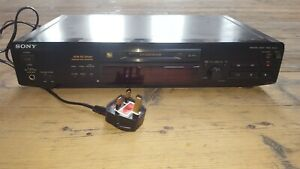Sony MDS-JE520 MiniDisc Recorder Deck / Separate - Optical, Black, Used Working