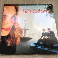 Barcelona Laserdisc Widescreen Rare
