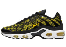 NIKE Air Max Plus Yellow Snakeskin Womens Running Shoes CT1555 001 Size 8.5  New