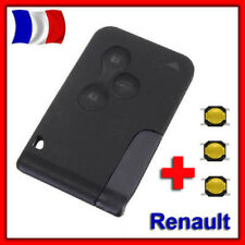 Coque Plip Key Card for Renault Megane II and Scenic 2 Clio 3 Buttons +3 Switch