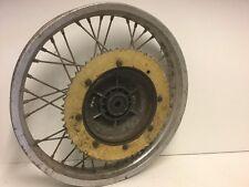 maico ccm twinport twinshock conical hub rear back wheel sun metal rim