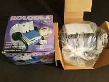 """NEW IN BOX Rolodex Office D67263AS Desk Business Card Holder 2 5/8"""" x 4"""""""