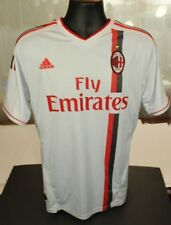"""Men's AC Milan Fly Emirates PRINCE 27 Jersey LARGE 40"""" chest USED but okay G2"""