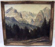 Künstlerische Malerei von 1800-1899 auf Leinwand-Landschaften & Städte