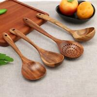 Japanese Non-Stick Wood Spoon Rice Soup Mixing Kitchen Cook Tableware Tool HOT