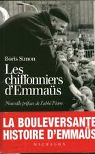 Livre les chifonniers d'emmaüs Abbé Pierre B.Simon book