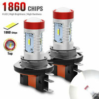 2X H15 LED 1860 SMD White High-Low Beam Fog Light Bulbs Car Daytime Running Lamp