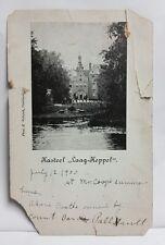 1900 Postcard Kasteel Laag-Keppel Netherlands  Frederick Van Pallandt Castle vtg