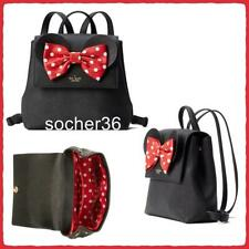 kate spade new york WKRU6608 Minnie Mouse Backpack for Women, Size Small - Black