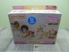 Calico Critters Baby Nursery Furniture Set Over 20 Pieces New In Box