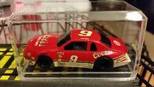 *Custom Painted* Bill Elliott #9 Coors Tyco 440 X2 Slot Car W/Display Case