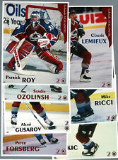 1996-97 Maggers Proof Avalanche Set, Roy, Sakic... (7)