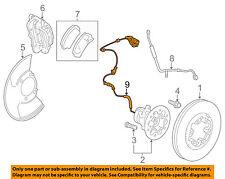 GM OEM ABS Anti-lock Brakes-Front Speed Sensor 15176997