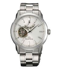 Orient Star Open Heart SDA02002W0 White Dial Stainless Steel Men's Watch