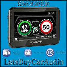 "SNOOPER ma vitesse xl 4.3"" gps speed camera detector with free lifetime updates"