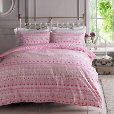 Linge de lit et ensembles blanc avec des motifs Cœurs en 100% coton