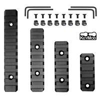 "Keymod Picatinny Weaver Rail Section Aluminum 5 7 9 11 Slot 2"" 3"" 4"" 5""-Pick QTY"