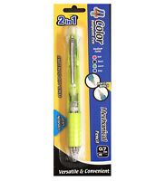 Medium Point Green 2 In 1 Mechanical Pencil + 4 Color Ballpoint Pen