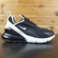 Nike Women's  Air Max 270 Black Light Bone Running Shoes Sz 9 AH6789 010