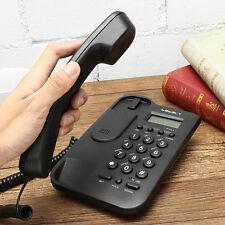 Wall Mount Telephone Desktop Corded Phone Caller Home Office Landline   New