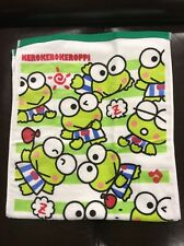 Sanrio Keroppi Hand Towel: Green Stripe Collection (Hk)