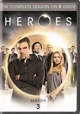 HEROES SEASON 3 Sealed New 6 DVD Set