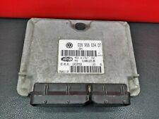 036906034DT 2003 VW LUPO ENGINE ECU 1.4 16V  036906034 DT IAW4LV.UB IAW4LVUB