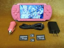 Pink Psp Ultimate Hack Con Cfw 3500+ Juegos + películas God of War Tekken Anime