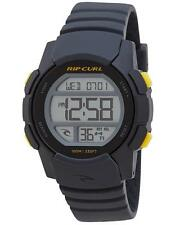 Rip Curl MISSION DIGITAL SILICONE WATCH Kids Waterproof Watch - A2869 Cha Grey
