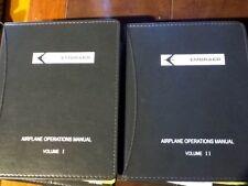 Embraer Legacy EMB-135BJ Airplane Operations Manuals, a 2 Vol. Set