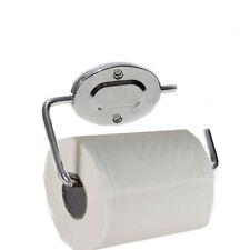 Square Bathroom Bar Toilet Roll Holder, High Shine Polished Chrome Free Delivery