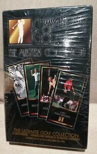 1997 FACTORY SEALED CHAMPIONS OF GOLF CARDS - TIGER WOODS RC ROOKIE CARD