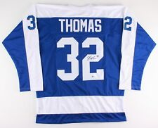 Steve Thomas Signed Maple Leafs Jersey (Beckett Holo) Playing career 1984–2004