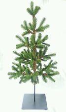 xmas tree - tall artificial green Christmas tree w heavy metal base RRP $129