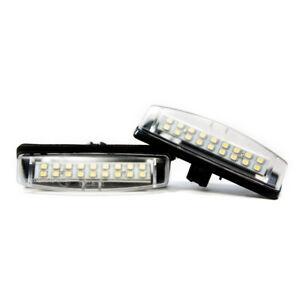 2 X LED Éclairage De Plaque Lexus Toyota Mitsubishi COLT Plus Grandis