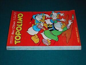 TOPOLINO LIBRETTO # 270 originale Walt Disney Arnoldo Mondadori Edit. 29/01/1961