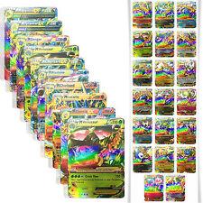 USA Pokemon TCG GX - Sun & Moon Booster Large trading HOLO NO FLASH MEGA 20 Card