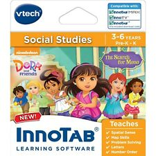 Vtech Innotab Learning Software Social Studies Nickelodeon Dora and Friends