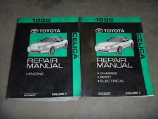 1995 Toyota Celica Coupe Hatchback Convertible Shop Service Repair Manual ST GT
