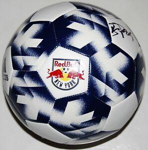 BRADLEY WRIGHT-PHILLIPS signed (NEW YORK RED BULLS) MLS Soccer ball W/COA