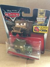 """DISNEY CARS DIECAST - """"Sarge"""" - 2015 Card - Combined Postage"""