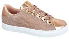 Zapatillas deportivas de mujer rosas sin marca, Talla 38
