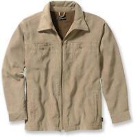 "PATAGONIA mens ""Cordwarmer"" Corduroy fleece lined chore jacket, tan, sz XXL, EUC"