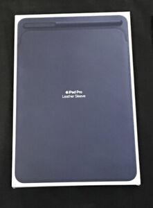 Genuine Apple iPad Pro 12.9 Leather SLEEVE  Midnight Blue