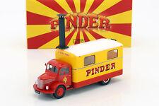 UNIC ZU 51 Cocina Camión PINDER Circo año fabricación 1952 amarillo / Rojo 1:43