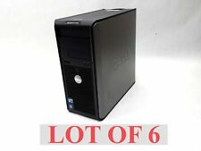 LOT 6 DELL OPTIPLEX 360 MT 2*E7400 3*E7500 E7200 2GB 160GB DESKTOP COMPUTER